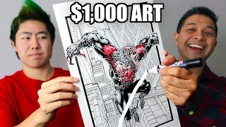 FIXING $1000 ART BY ZHC! (for a good cause!)