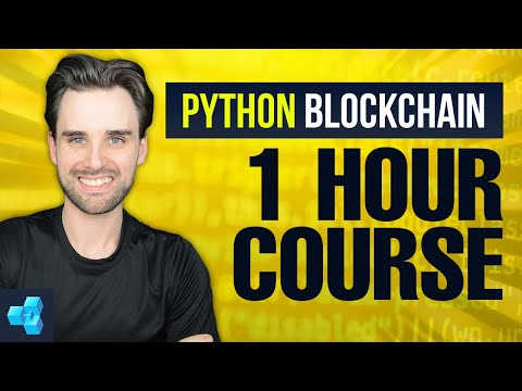 Blockchain Python programming tutorial [FULL COURSE] Web3.py