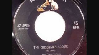 The Davis Sisters The Christmas Boogie.wmv
