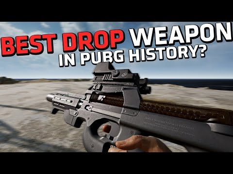 Download IS THIS THE BEST DROP WEAPON EVER? - You won't believe how fast the P90 kills - PUBG