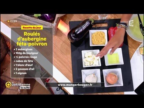 la-recette-de-farida-:-roulés-d'aubergine-féta-poivron-boulgour