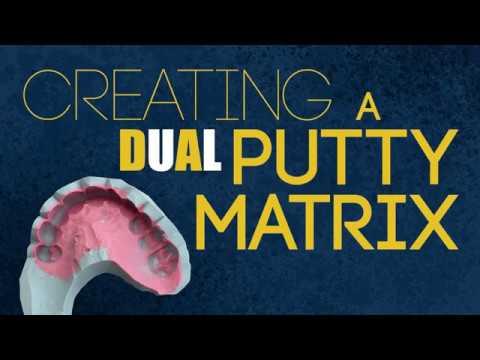 Creating A Dual Putty Matrix | Dental Lab Techniques