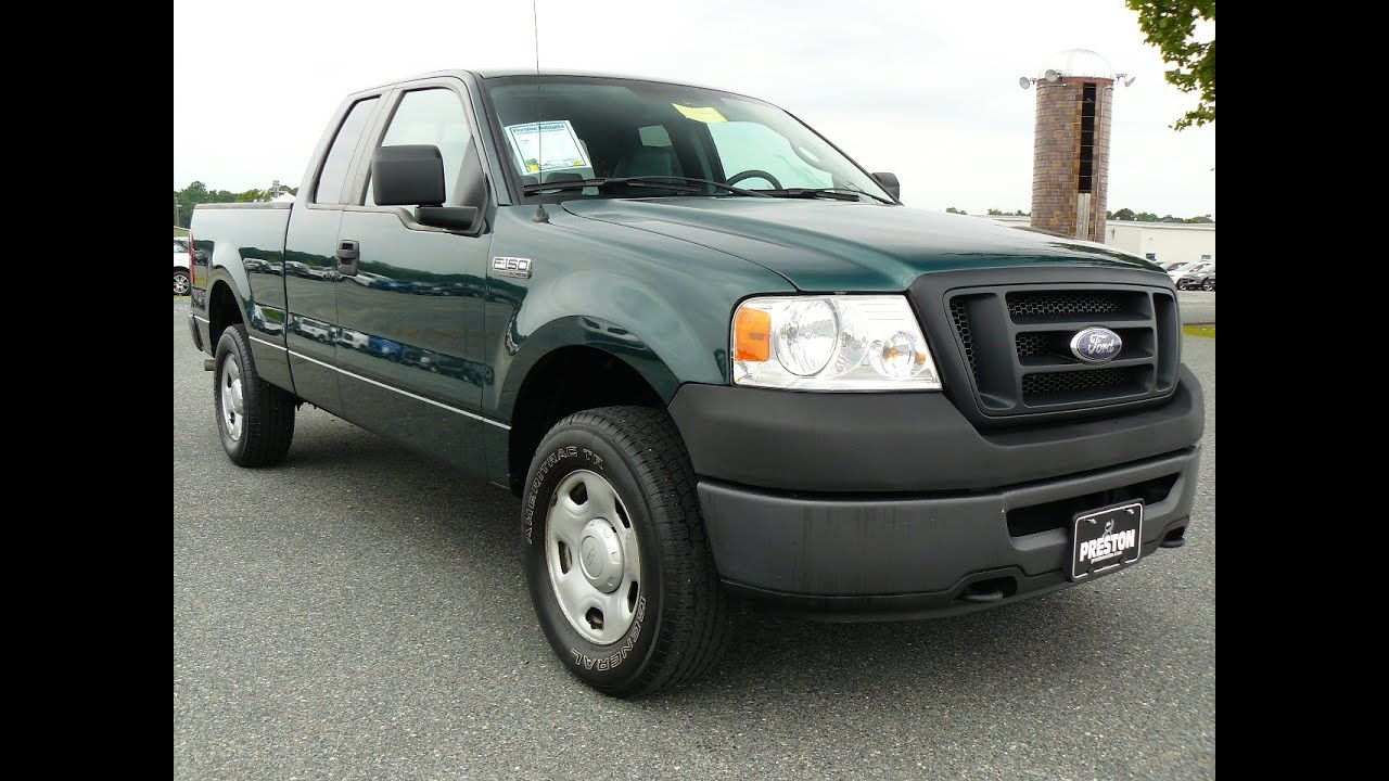 2008 ford f150 xl 4 6 v8 4wd cheap truck for sale by maryland ford dealer f401670a youtube. Black Bedroom Furniture Sets. Home Design Ideas