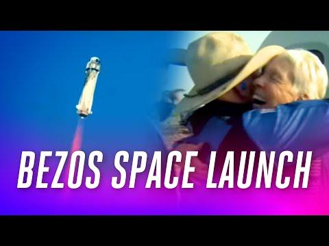 Watch Jeff Bezos launch into space on Blue Origin's New Shepard rocket
