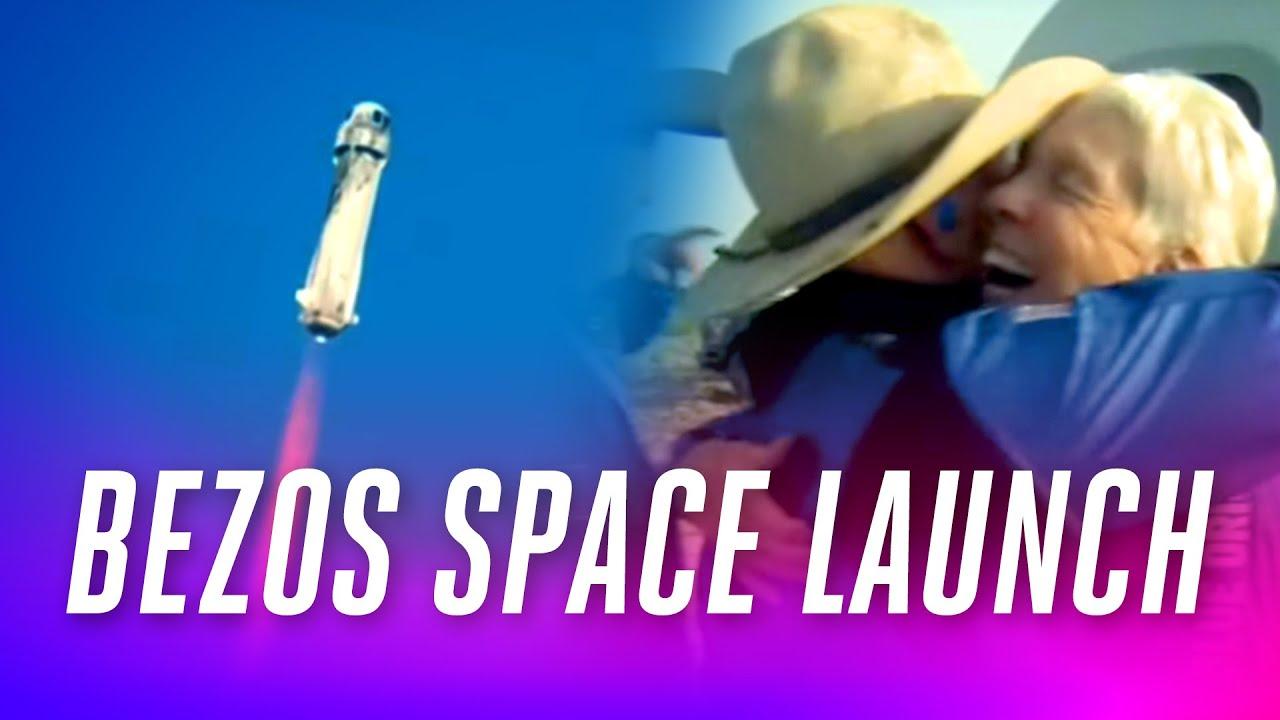 Download Watch Jeff Bezos launch into space on Blue Origin's New Shepard rocket