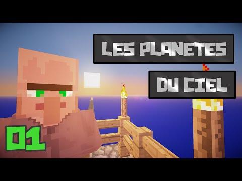 Minecraft: Les Planètes du Ciel, Ep 1