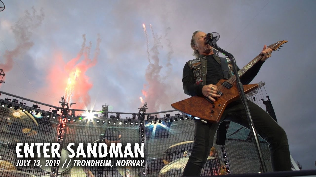 Metallica: Enter Sandman (Trondheim, Norway - July 13, 2019)