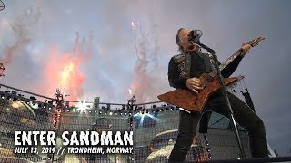 Смотреть клип Metallica: Enter Sandman (Trondheim, Norway - July 13, 2019)
