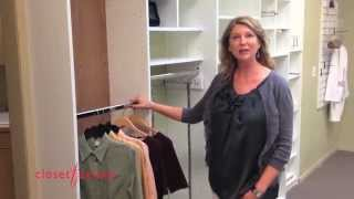 How To Expand Hanging Space In Your Closet