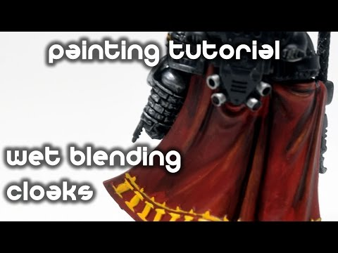 How To Wet Blend A Cloak