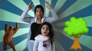 Ayı Şarkısı Türkçe - Ormanda Bir Ayı Varmış Birden Sırtı Kaşınmış Çocuk Şarkıları İlkim ile Beraber