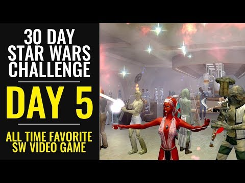 30 Day Star Wars Challenge - DAY 5 - All Time Favorite Star Wars Video Game