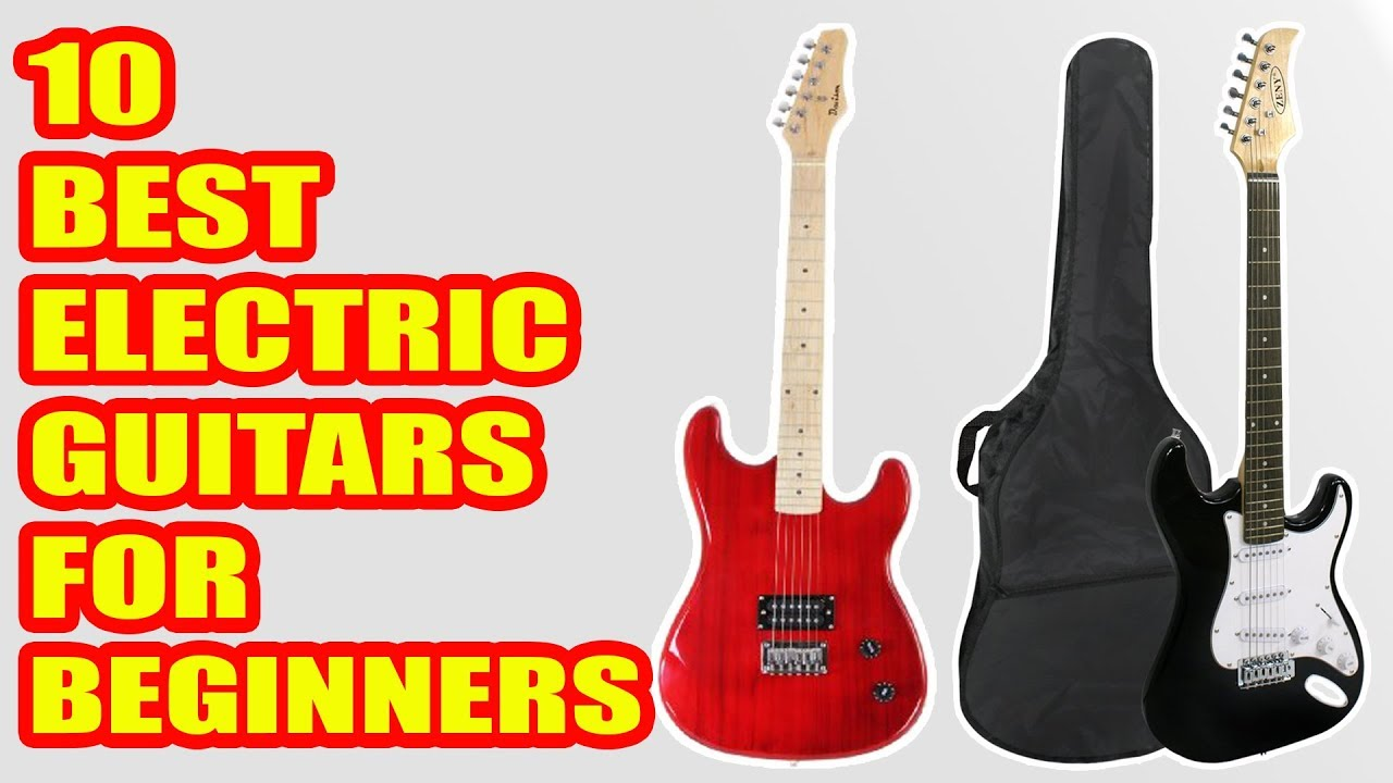 10 best electric guitars for beginners 2018 youtube. Black Bedroom Furniture Sets. Home Design Ideas