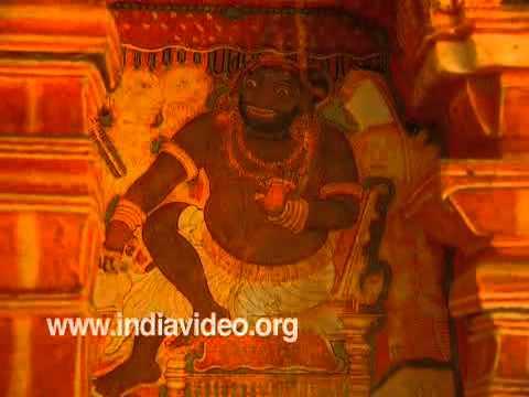 Murals- Thodeekulam Temple
