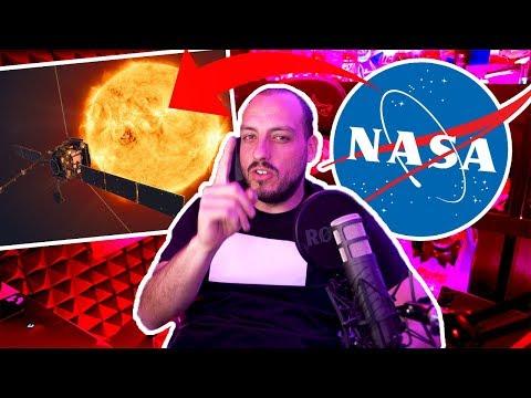 NASA envía nave a chocar con el sol -Wefere NEWS