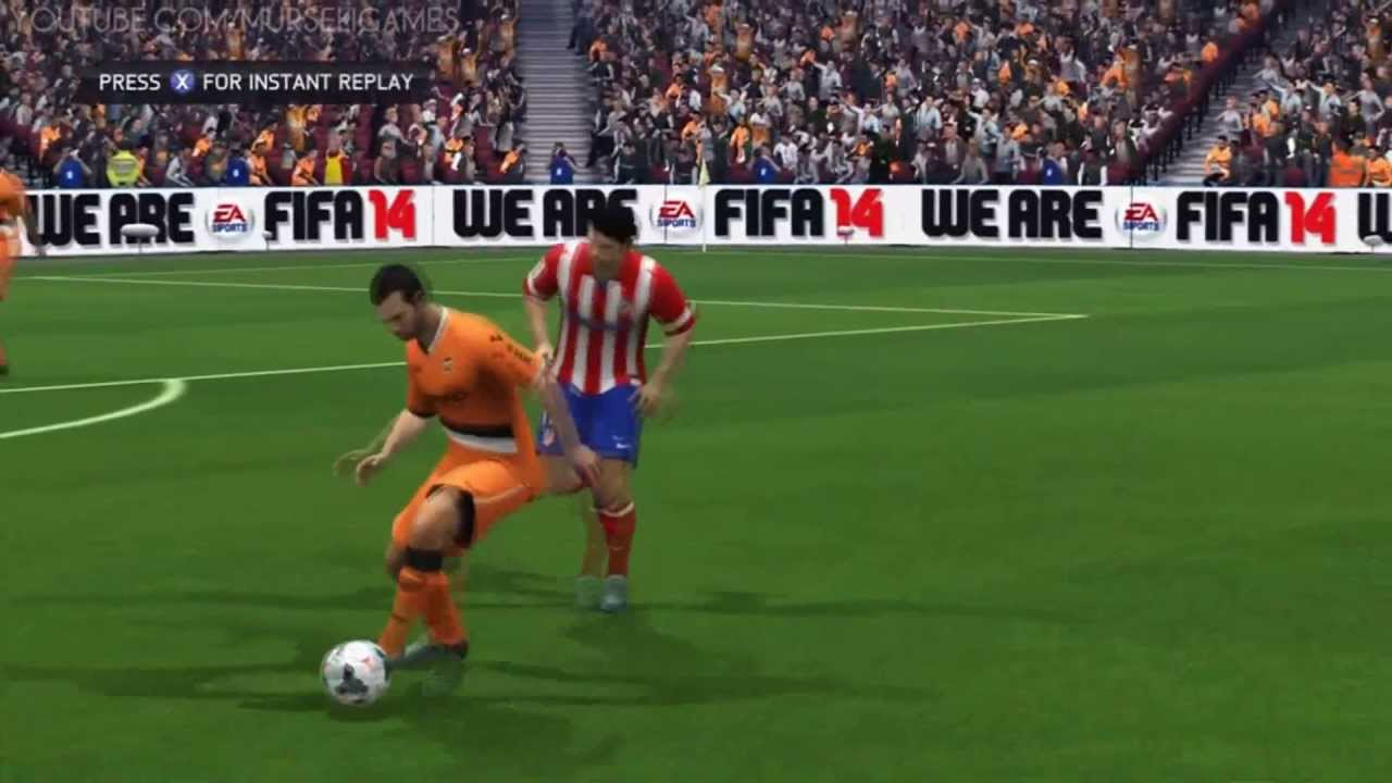 Fifa 14 Gameplay Match 9 Valencia Cf Vs Atlético