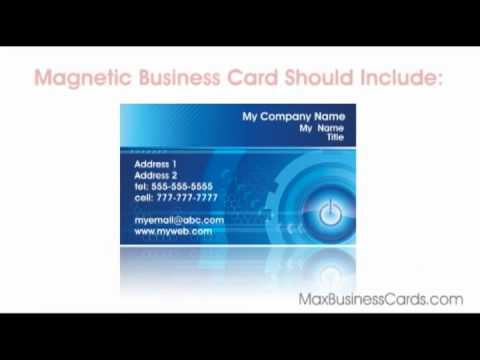 magnetic-business-cards,-order-business-cards-online