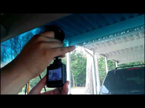 HP F210 1080p Full HD GPS Dash Cam  How To Install Tutorial