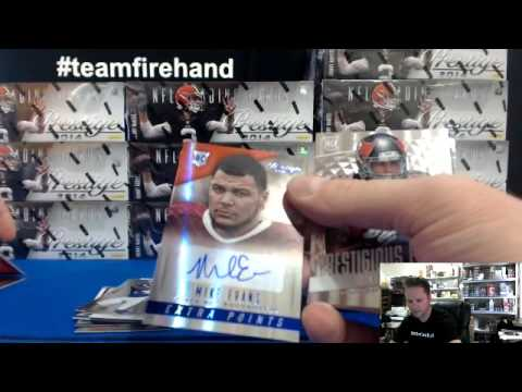 Pt 1 ~ 2014 Prestige Football 12 Box Case Break #3 ~ 7/12/14
