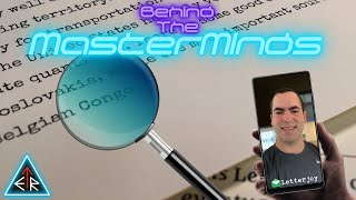 """EP37 - ESCAPETHEROOMers presents: Behind The MasterMinds w/ """"Letterjoy"""""""