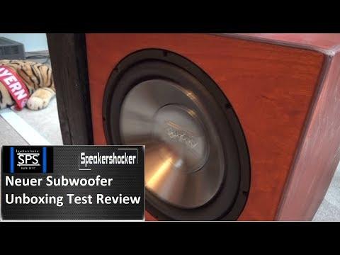 Neuer Subwoofer Test Unboxing und Review / Soundcheck