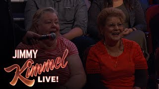 Behind the Scenes with Jimmy Kimmel and Audience (Lopsided Friendship)