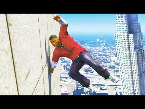 GTA 5 Funny/Crazy Jump Compilation #14 (GTA V Fails Funny Moments