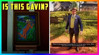 Gavin....You've Got Some Explaining To Do! NEW Discovery For Finding Gavin In Red Dead Redemption 2!