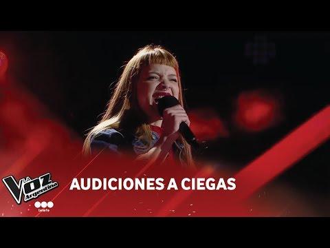 """A. Rosales - """"I put a spell on you"""" - Annie Lennox - Audiciones a ciegas - La Voz Argentina 2018"""