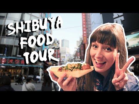 5 Traditional Japanese Foods in Shibuya!