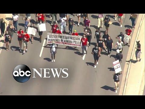 Elijah McClain protest draws thousands in Colorado l ABC News