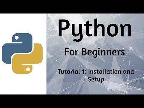 Python Tutorial 1 - Setup and Installation of Python and Pycharm [Windows 10] 2019 thumbnail