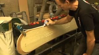 Ski and snowboard sandwich construction - Sidewalls