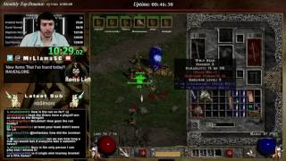 diablo 2 8 man hc sorceress duel single elim tourny