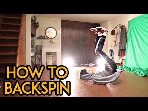 How To Backspin Tutorial | Kaio