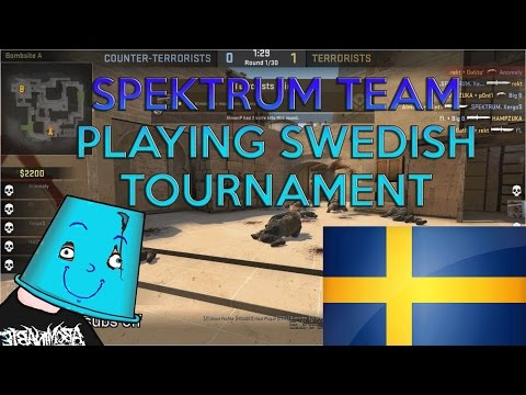 TEAM SPEKTRUM PLAYING SWEDISH TOURNAMENT GAME 1