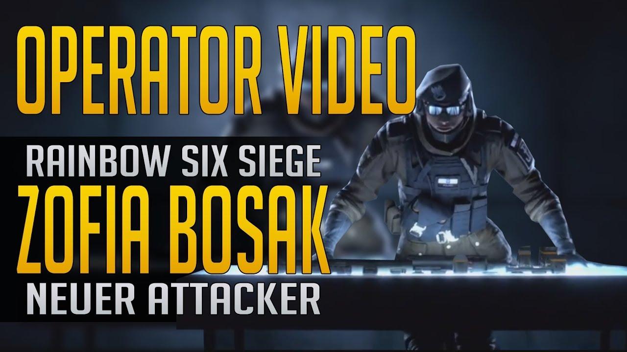 Rainbow six siege zofia bosak operator video youtube - Rainbow six siege bosak ...