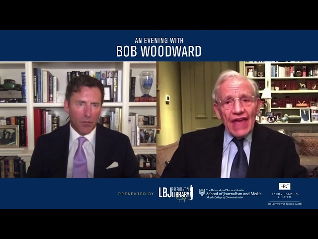 BOB WOODWARD: Stories Don't Unfold in Chronological Order