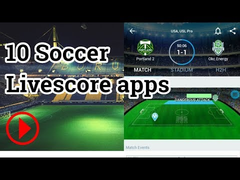 【2018】10 Soccer Livescore Apps (10 款足球文字直播 Apps) - Android/iOS