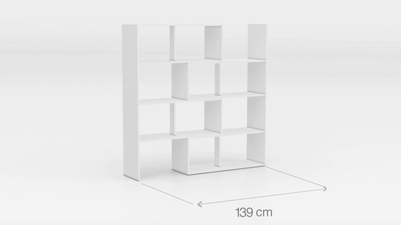 STRETCH 1 Regal / Raumteiler weiß by Wohnorama - YouTube