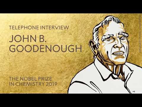 "John B. Goodenough: ""Don't retire too early!"""