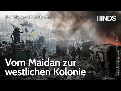 Vom Maidan zur westlichen Kolonie