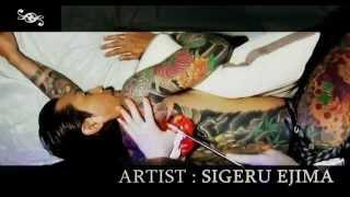 Repeat youtube video 日本伝統刺青師 彫茂 // Artist : SIGERU EJIMA