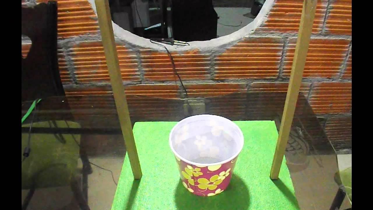 Como hacer un pozo con sistema de poleas youtube for Como hacer un estanque en casa