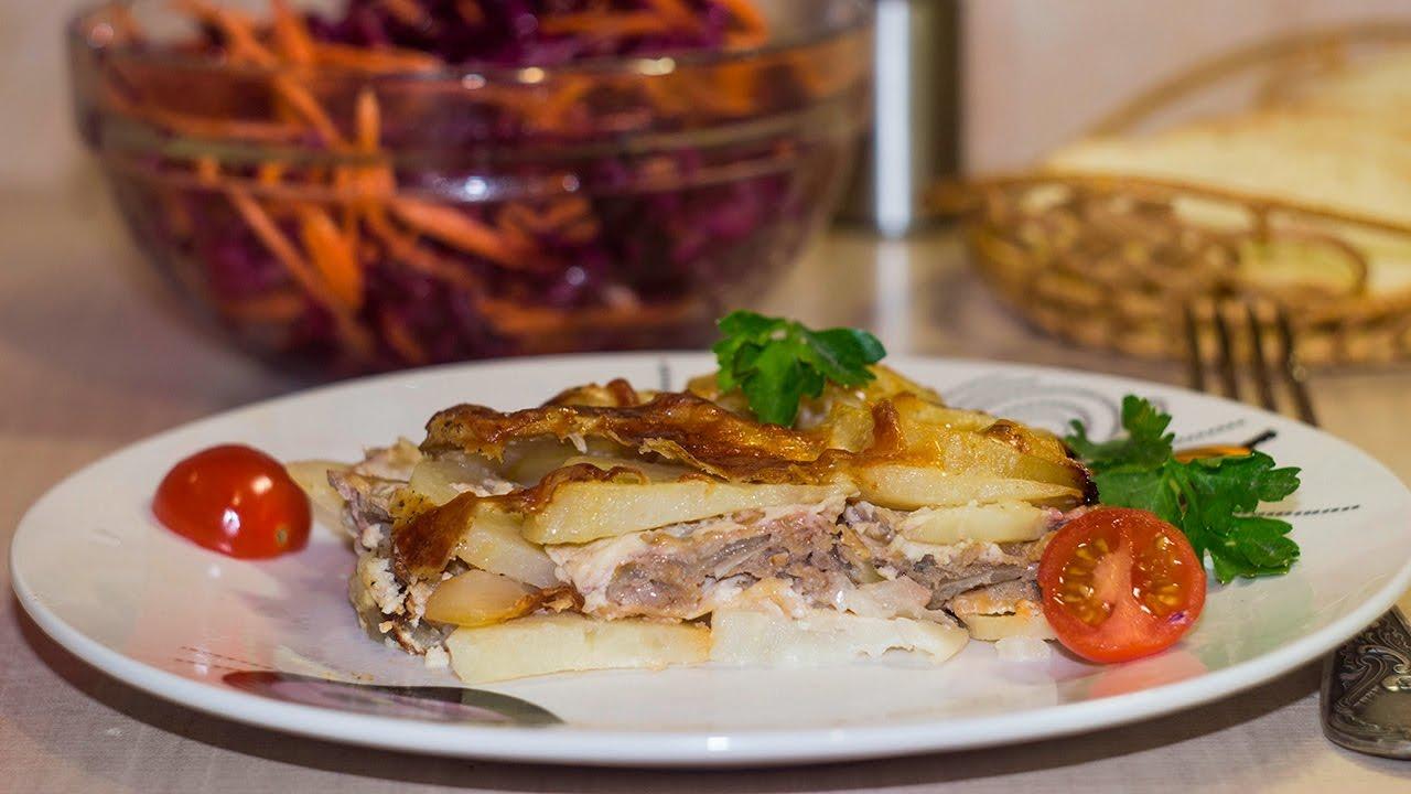 рецепты пюре из картофеля в духовке