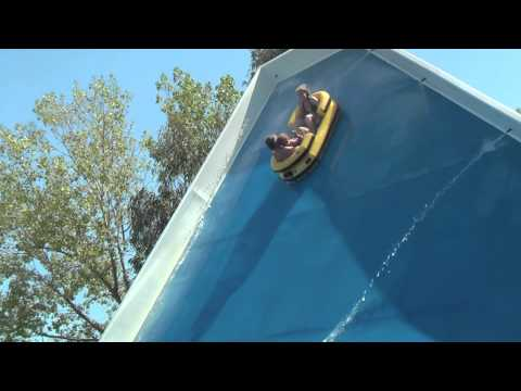 "Antibes Aquasplash ""SIDE WINDER"" Attraction Marineland Waterpark France"