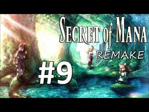 SECRET OF MANA (REMAKE) | En Español | #9 TANATOS Y BOSS CARAMURO