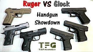 ruger-versus-glock-handgun-showdown-thefirearmguy