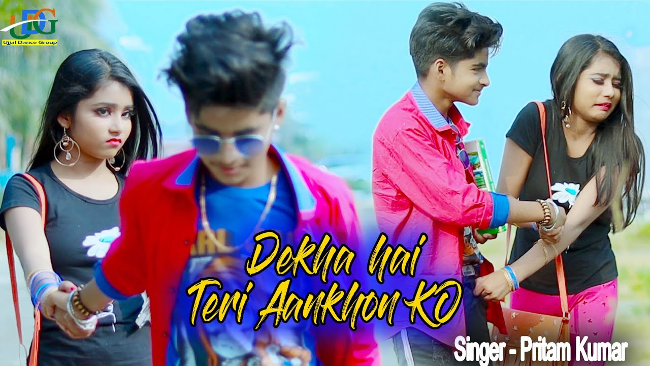 Download Dekha Hai Teri ankhon ko 🌴 Cute Love Story 💋 New bollywood songs 🌻 Rupsa & Rick 🌴 Ujjal Dance Group