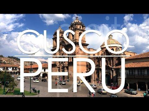 Cusco Inca Capital in Peru - flight from AMS
